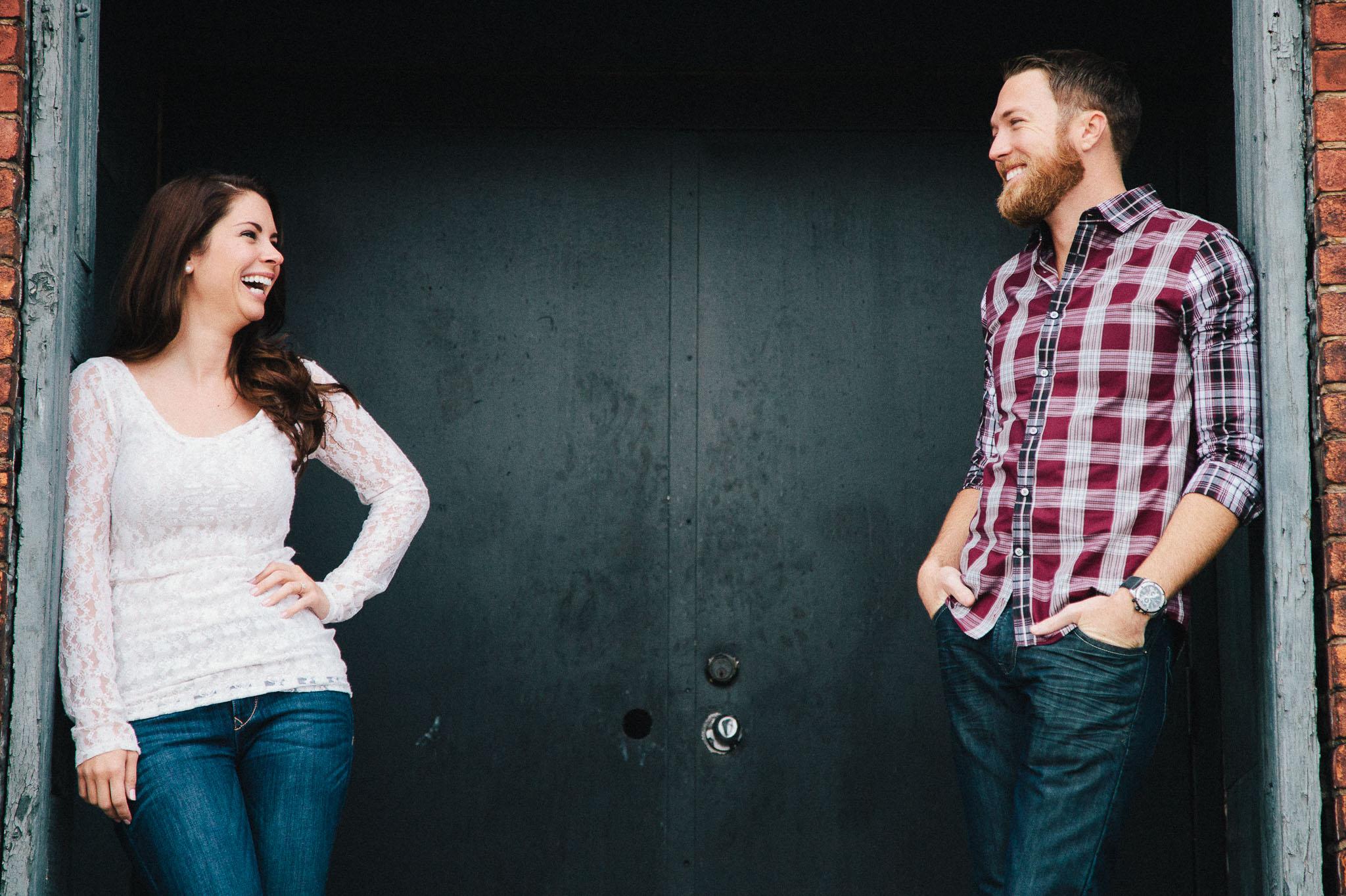 Amy & Sean<br>Nashville Engagement Photography